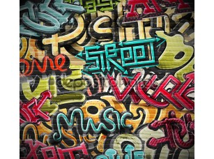 Фотообои «Graffiti grunge texture»