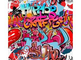 Фотообои «Graffiti wall vector abstract background»