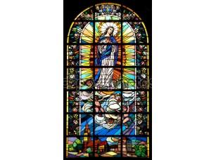 Фотообои «Библейские витражного стекла»