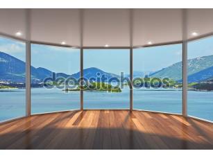 Фотообои «Большие окна в пол»