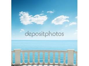 Фотообои «Вид на море с балкона»