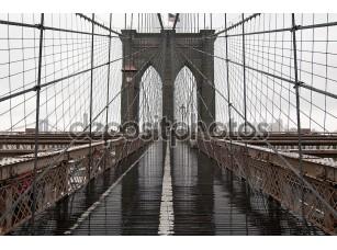 Фотообои «Бруклинский мост обзор»