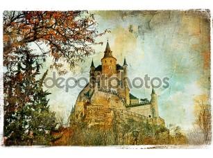 Фотообои «волшебный замок»
