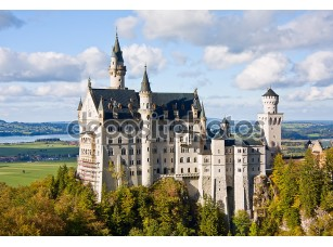 Фотообои «Neuschwanstein castle in Germany»