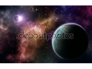 Фотообои «Space Background»
