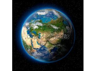 Фотообои «Земля в космосе»