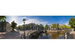 Фотообои «Amsterdam reflections, Holland»
