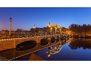Фотообои «Amsterdam Bridges»