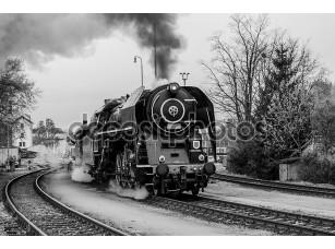 Фотообои «Old steam train»