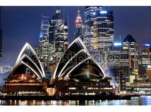 Фотообои «вид на гавань Сиднея»