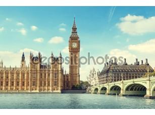 Фотообои «Биг Бен в Солнечный день, Лондон»