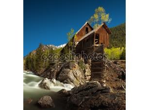 Фотообои «Кристалл млн или потеряли лошади milll в штате Колорадо»