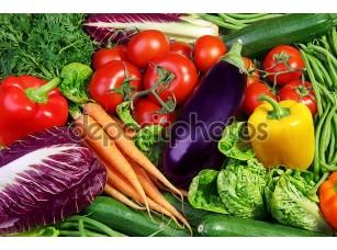 Фотообои «Ассорти из свежих овощей»