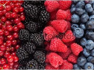 Фотообои «аппетитные ягоды»