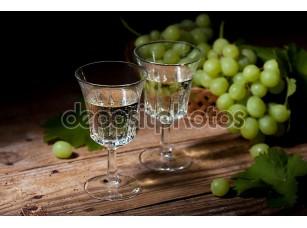 Фотообои «белое вино»