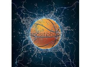 Фотообои «Баскетбольный шар»