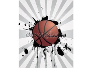 Фотообои «Баскетбольный фон»
