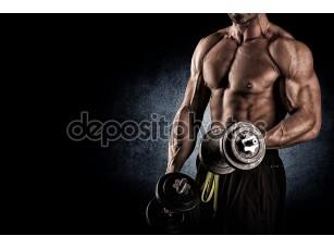 Фотообои «Атлетическое телосложение»