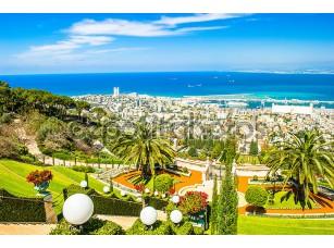 Фотообои «Бахайские сады в Хайфе, Израиль»