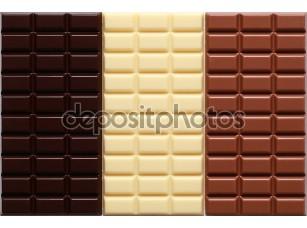 Фотообои «3 сорта шоколада»