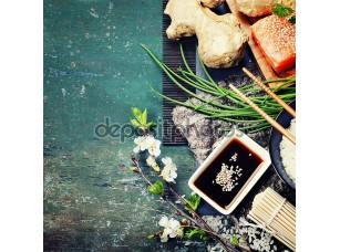 Фотообои «Азиатское продовольствие»