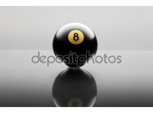 Фотообои «Бильярд мяч»