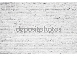 Фотообои «Белый гранж кирпичной стены фон»