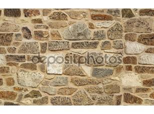 Фотообои «Бесшовные из тесаного старой каменной стены текстуры фона»