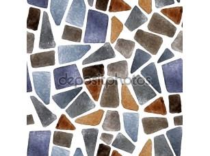 Фотообои «Watercolor seamless stone texture»