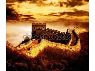 Фотообои «Великая стена Бадалин»