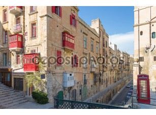 Фотообои «StreetView Валлетта, Мальта»