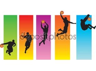 Фотообои «баскетбольный хлопок Данк»
