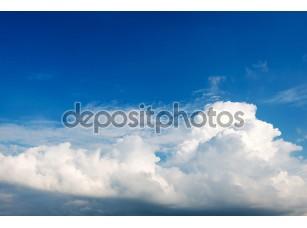 Фотообои «Белые облака в небе»