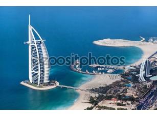 Фотообои «Бурдж аль-Араб сверху»