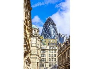Фотообои «Архитектура Лондона, делового района, футуристический дизайн»