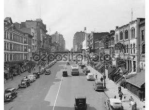 Фотообои «Cityscape э. 86-я стрит в 1930-х годов Нью-Йорке»