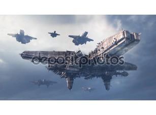 Фотообои «3-й НЛО»