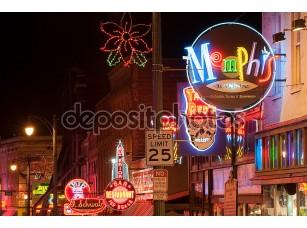 Фотообои «Beale улица»