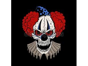 Фотообои «Illustartion мультфильм злой клоун.»