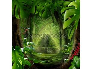 Фотообои «Глубокие джунгли»