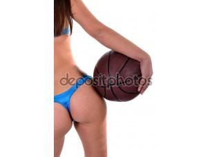 Фотообои «Баскетболистка»