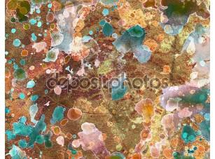 Фотообои «Абстрактный  красочный фон»