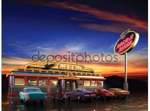 Фотообои «Американ Дайнер»