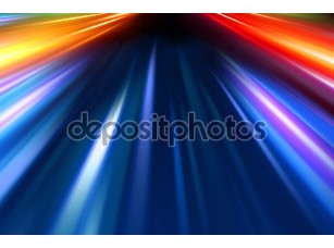 Фотообои «Абстрактное ночное движение»