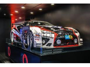 Фотообои «FRANKFURT - SEPT 2015: Lexus LFA WRC WTCC presented at IAA Inter»