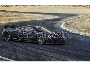 Фотообои «McLaren черный»