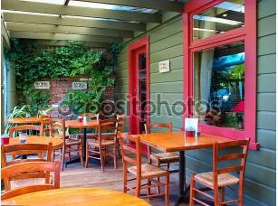 Фотообои «Porch of a Cafe»