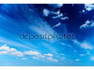 Фотообои «абстрактное синее небо»