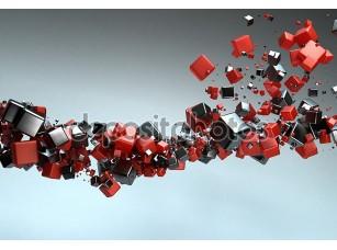 Фотообои «Абстрактные частицы»