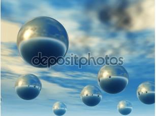 Фотообои «3D сферы»